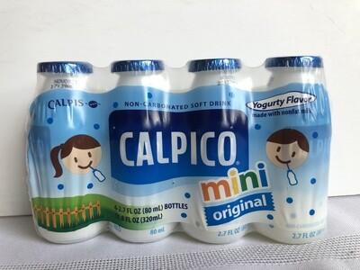 Calpico Mini Original 80mlx4
