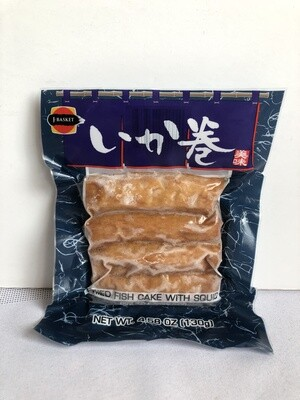 J-Basket Ika Maki Fish Cake w/Squid