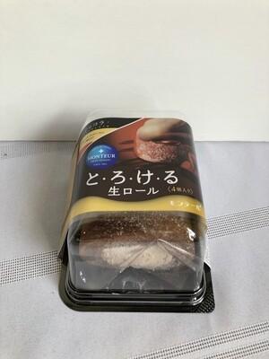 Monteur Nama Chocolate Roll Cake 4pc