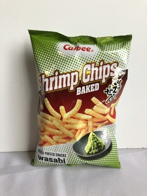 Calbee Shrimp Chips Wasabi