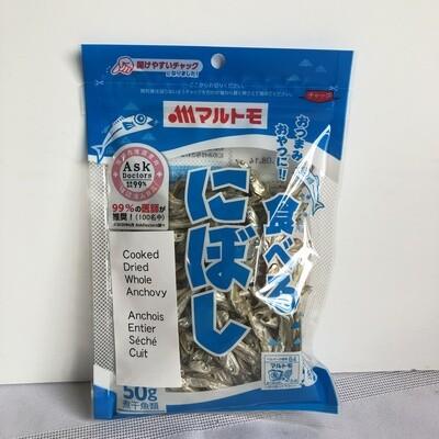 Marutomo Dried Anchovy Niboshi 50g