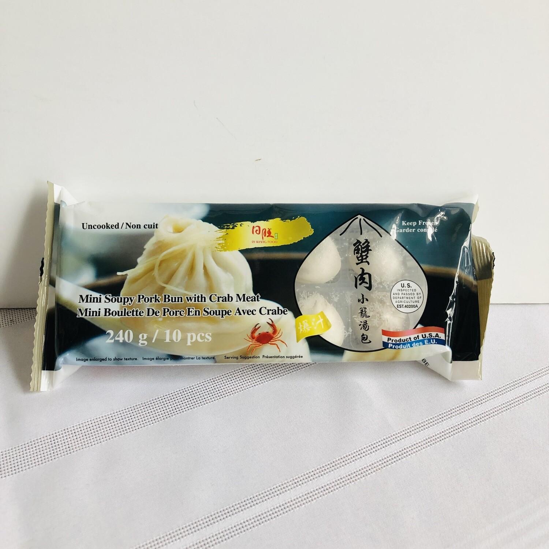Ri Wang Mini Soupy Bun w/Crab Meat 10pc