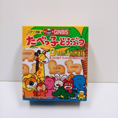 Ginbis Animal Biscuit Coconut