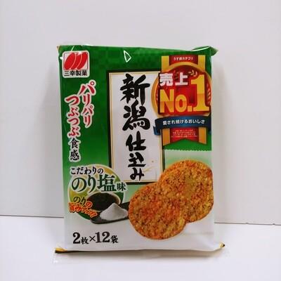Sanko Nori Shio Rice Seaweed&Salt Cracker