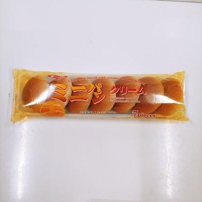 Daiichi Mini Cream Pan Bread w/Custard 7pc