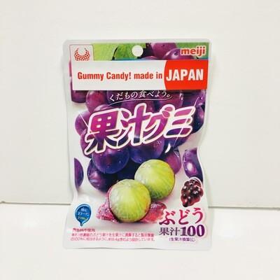 Meiji Kajyu Gummy Grape