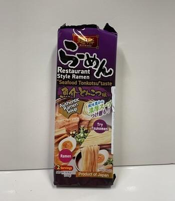 Hikari Menraku Seafood Tonkotsu Ramen Strick