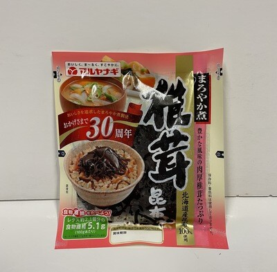 Maruyanagi Shiitake Konbu Seosoned Kelp 110g