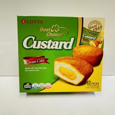Lotte Custard Cream Cake