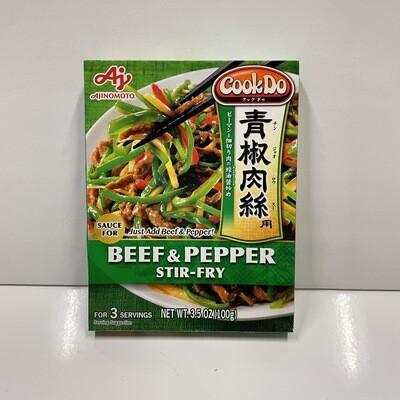 Ajinomoto CookDo Beef & Pepper Stir-Fry Sauce