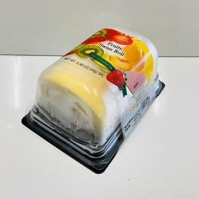 Orange Fruit Swiss Roll