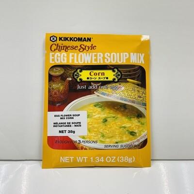 Kikkoman Egg Flower Soup Mix Corn
