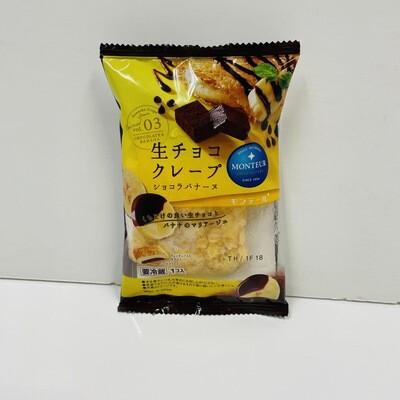 Monteur Crepe Chocolate Banana