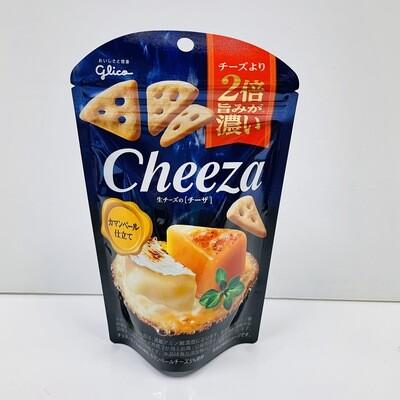 Glico Cheeza Camembert Cheese Cookies