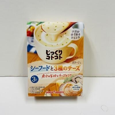 Pokka Sapporo 3 Cheese & Seafood Soup 3pk