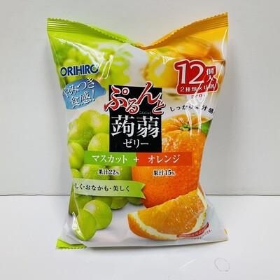 Orihiro Konjac Jelly Muscat+Orange