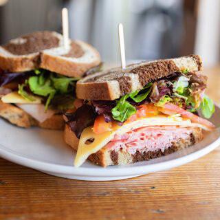 Rosemary Ham Sandwich