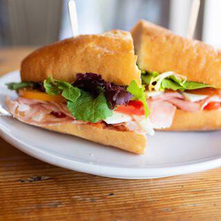 Italian Mortadella Sandwich