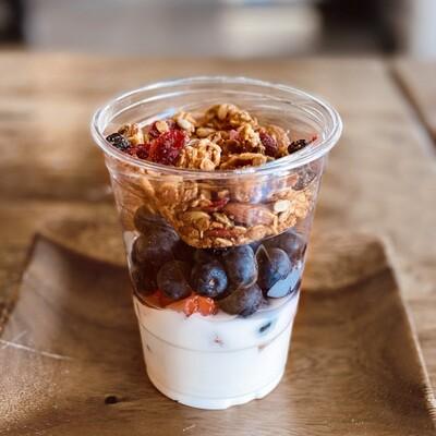 Yogurt+Berries Parfait