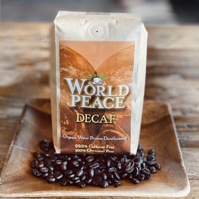 World Peace Decaf Coffee (12 oz)