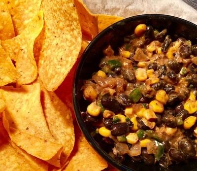 Chips & Corn salsa