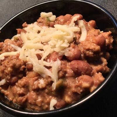 Beef & Bean Dip w/ Chips