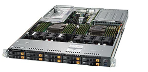 SUPERMICRO SuperServer mit 8.4TB NVMe SSD