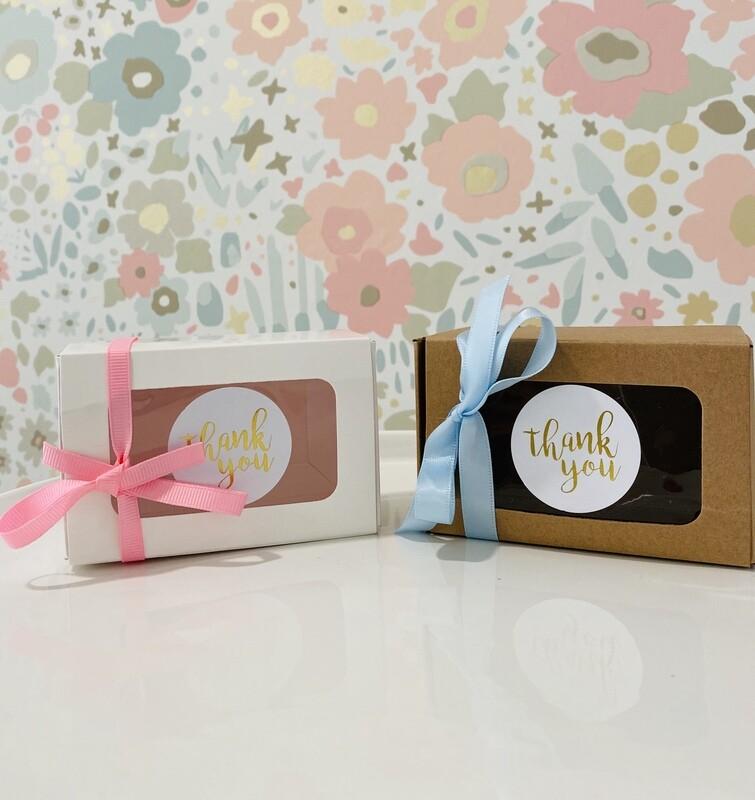3 Pack Macaron Box Favor