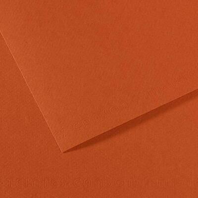 Бумага для пастели Mi-Teintes 160г/м.кв 50*65см №130 Красная земля 25л/упак