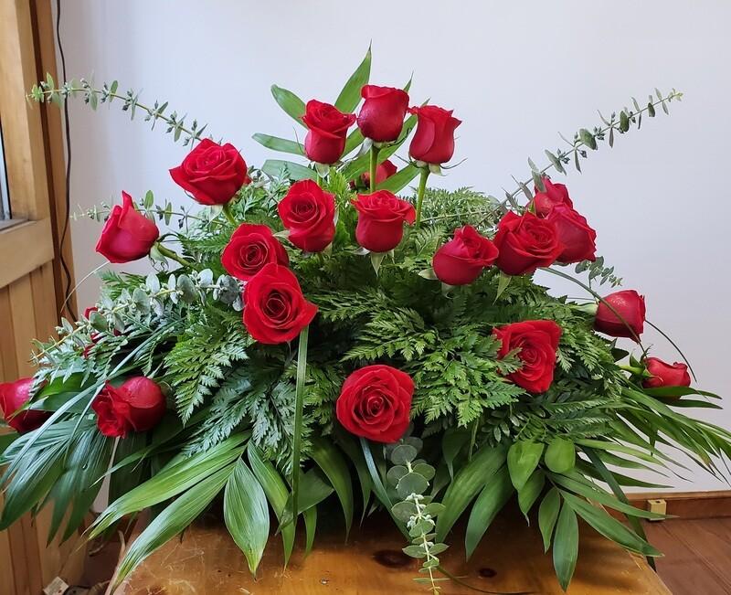 Table Top Funeral Arrangement