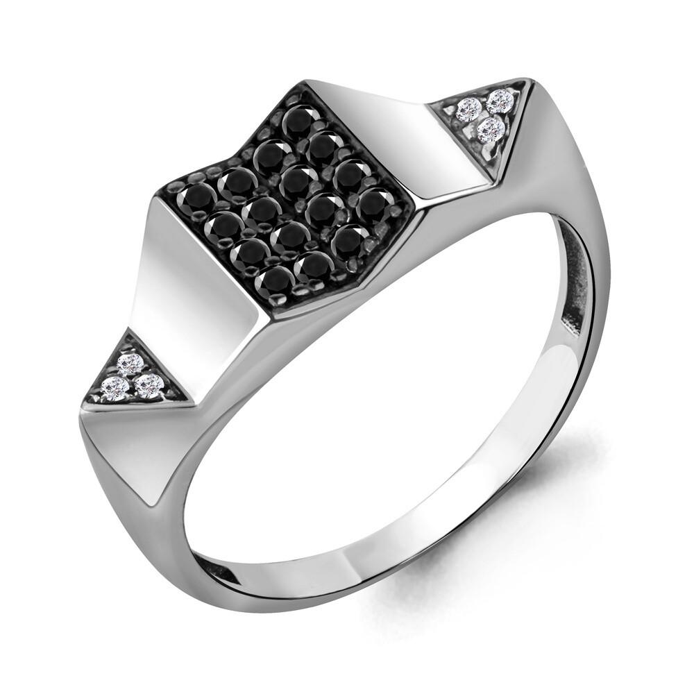Кольцо 68355 АЧ серебро 925