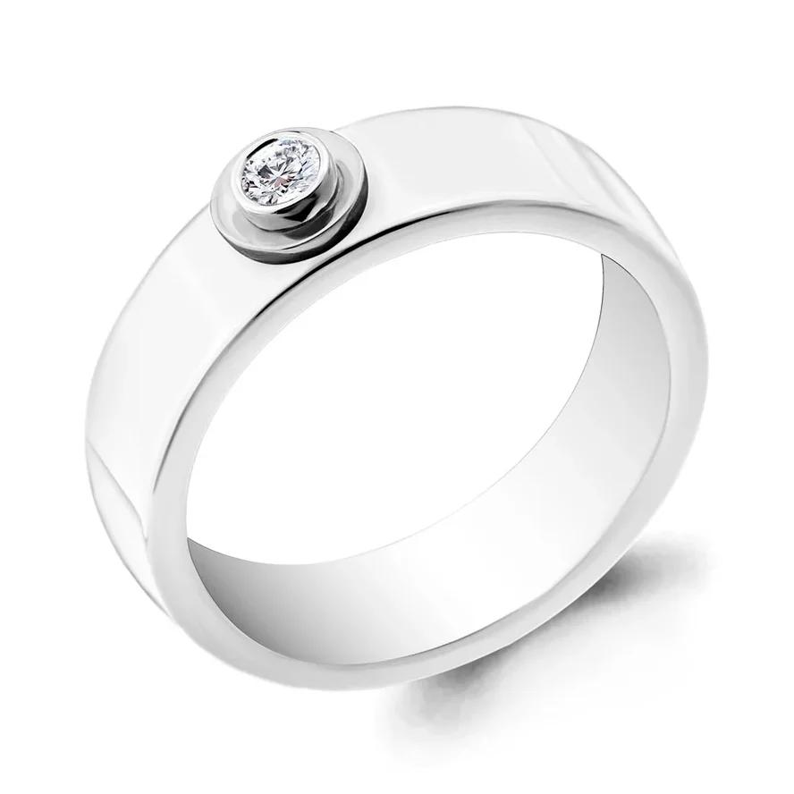 Кольцо 68440 серебро 925