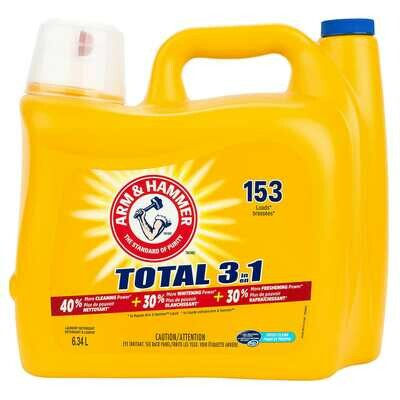 Arm and Hammer Total 3in1 Laundry Detergent