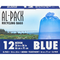 Al-Pack Blue Bags 26x36