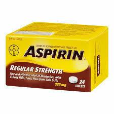 Bayer Aspirin 325mg