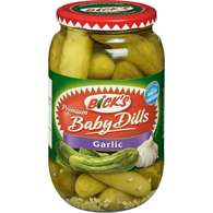 Bick's Baby Dill Pickles Garlic