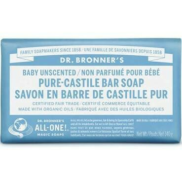 Dr. Bronner's Baby Unscented