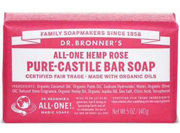 Dr. Bronner's Rose Soap