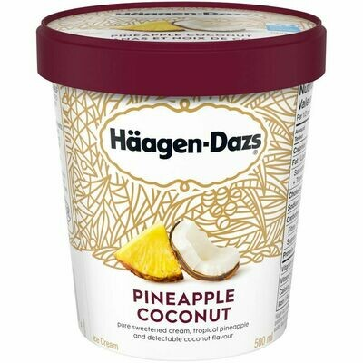 Haagen Dazs Pineapple Coconut