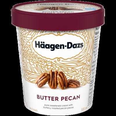 Haagen Dazs Butter Pecan