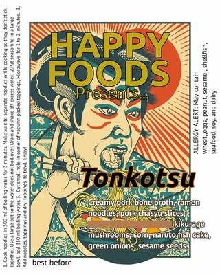 Happy Foods Ramen Tonkotsu