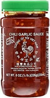 Huy Fong Rooster Chili Garlic