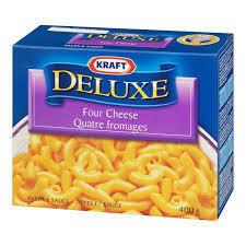 Kraft Deluxe 4 Cheese