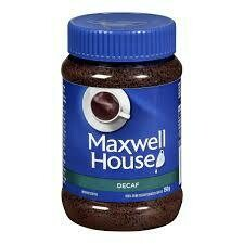 Maxwell House Instant Coffee Decaf
