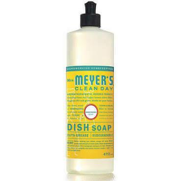 Mrs Meyers Honeysuckle dish soap
