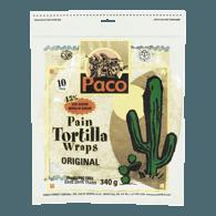 Paco White Tortilla Wraps