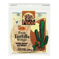 Paco Whole Wheat Tortilla Wraps