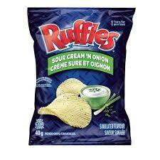 Ruffles Sour Cream and Onion 40g