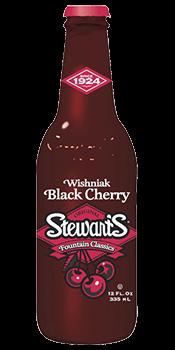 Stewart's Black Cherry Soda