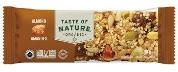 Taste of Nature Bar Almond